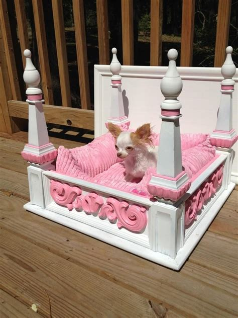 Diy Princess Small Dog Bed